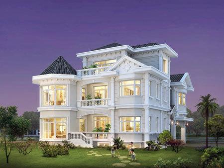 Biệt thự lâu đài  ở Phú Mỹ Hưng