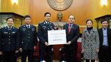 MTTQ trao hơn 1 tỷ đồng cho Cảnh sát biển, Kiểm ngư