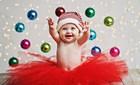 Cận Giáng sinh ngắm bộ ảnh bé yêu tuyệt đẹp