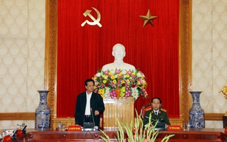 Thủ tướng, công an, đại hội Đảng, bộ trưởng, Trần Đại Quang