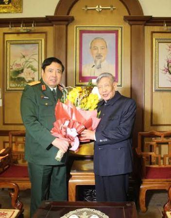 Lê Đức Anh, Phùng Quang Thanh, Nguyễn Bắc Son, quân đội, kỷ niệm, thành lập