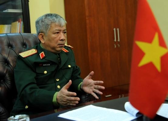 Tướng Vịnh: Muốn yên biển Đông, nội bộ phải ổn