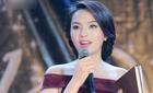 Hoa hậu Kỳ Duyên phát biểu bằng tiếng Pháp tại trường