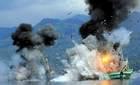 Xem Indonesia cho nổ tung tàu nước ngoài
