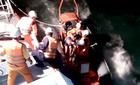 Bộ trưởng Thăng khen lực lượng hàng hải cứu 18 thuyền viên