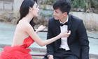 Thủy Tiên diện váy cưới nửa tỷ chụp ảnh với Công Vinh