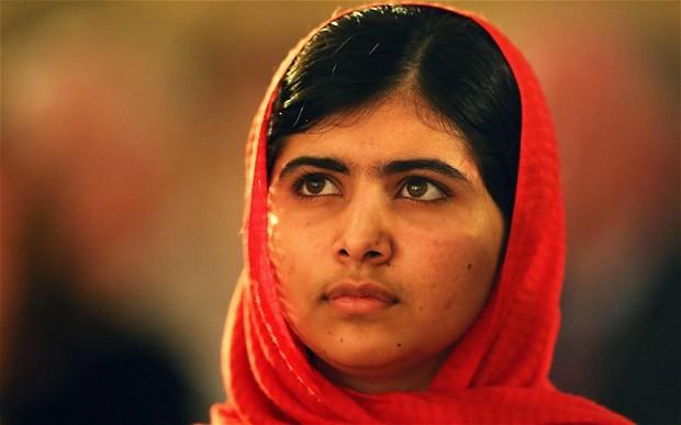 Malala Yousafzai, Emma Watson, Angela Merkel