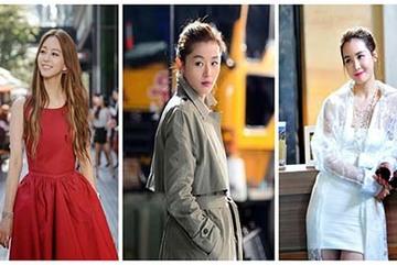 Gu thời trang tuyệt đẹp của sao Hàn