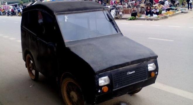 'Siêu phẩm' ô tô tự chế của nông dân Việt