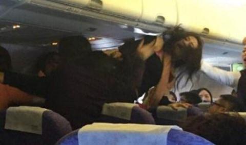 Khách nữ Thái Lan - Trung Quốc đánh nhau ở sân bay