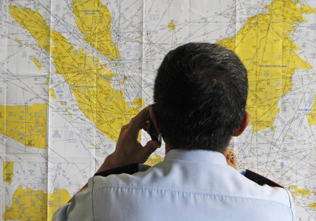 Hàng chục máy bay, tàu chiến vào cuộc tìm kiếm QZ8501