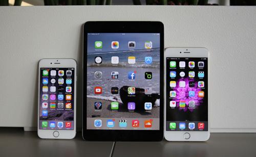 Apple, Samsung, iPad, iPhone 6 Plus, phablet, máy tính bảng