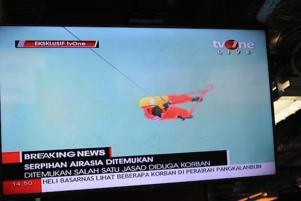 Đã tìm thấy thi thể hành khách QZ8501