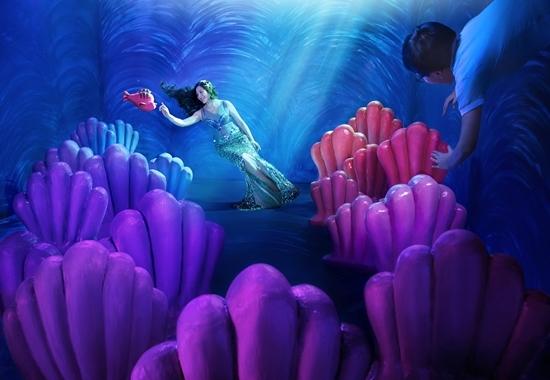 40 tuổi, MC Quỳnh Hương vẫn liều mình làm công chúa