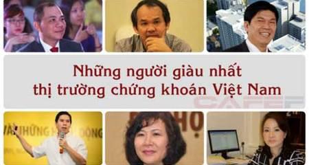 Có 1.800 tỷ lọt Top10 người giàu nhất Việt Nam