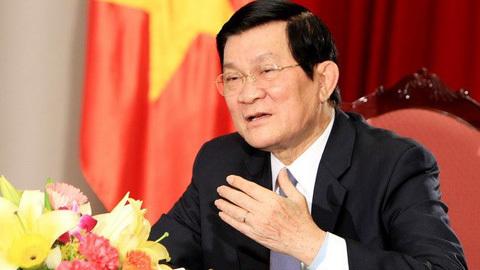 Chủ tịch nước, Trương Tấn Sang, chủ quyền, Biển Đông, tham nhũng