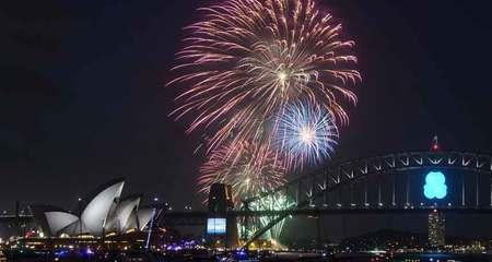 Thế giới tưng bừng đón năm mới 2015