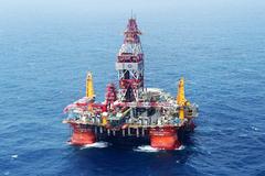Giàn khoan Hải Dương 981 đang đi gần bờ biển VN