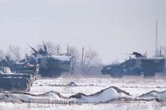 Nga lại đưa xe quân sự sang đông Ukraina?
