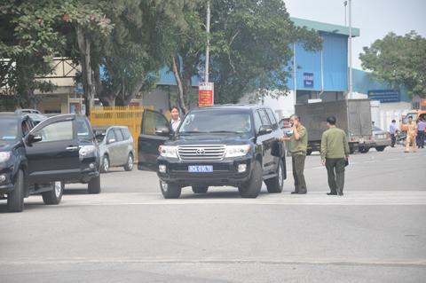 Thắt chặt an ninh sân bay, bệnh viện đón ông Bá Thanh