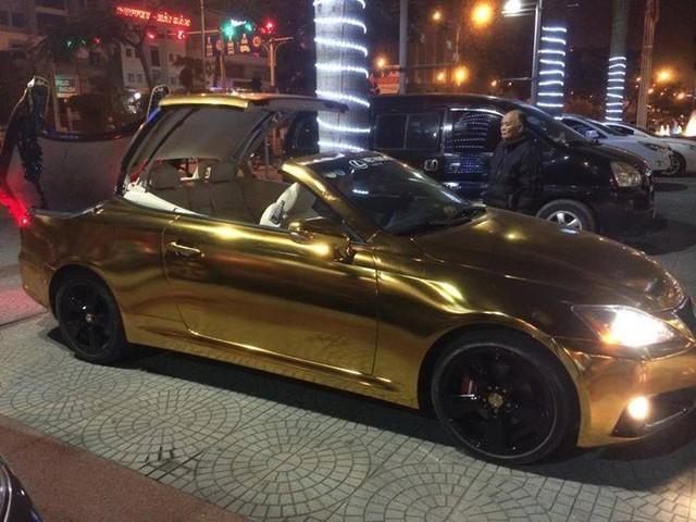 siêu xe, mui trần, mạ vàng, Hải Phòng, đại gia, Lexus