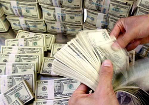 Tăng thêm hơn 100 đồng, USD vượt mốc 21.500 đồng/USD
