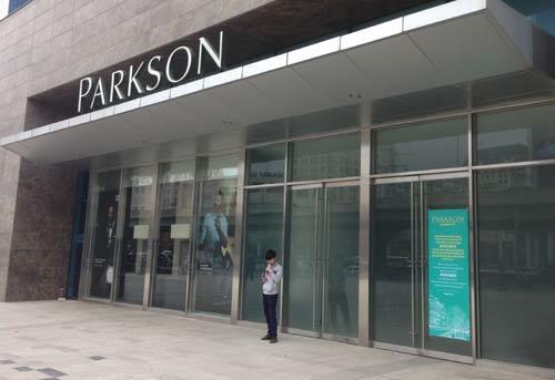 Parkson Landmark chưa hẹn ngày mở cửa