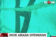 Xác máy bay QZ8501 chìm dưới nước