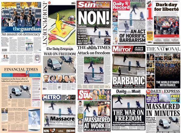 thảm sát Paris, 11/9, khủng bố, Hồi giáo, Charlie Hebdo, tự do báo chí, biếm họa