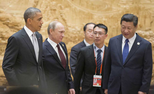Mỹ xoay xở thế nào khi Nga-Trung bắt tay nhau?