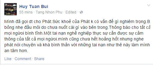 Thí sinh Vietnam's Got Talent phải nhập viện vì uống nhầm axit