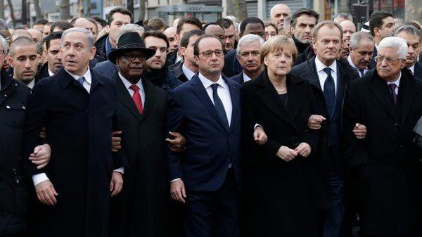 Clip 1,6 triệu người tuần hành ở Paris trong 60 giây