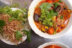 5 quán bún riêu nổi tiếng nhất Sài Gòn