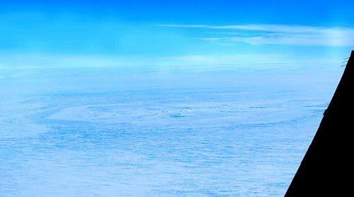 Vòng tròn bí ẩn xuất hiện ở Nam cực