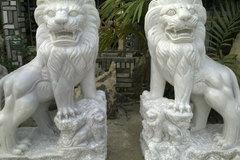 Hà Nội di dời 146 sư tử đá ngoại lai
