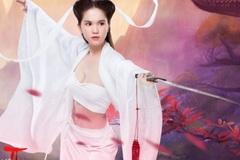 Ngọc Trinh hóa 'Tiểu Long Nữ đùi gà' chào đón game thủ