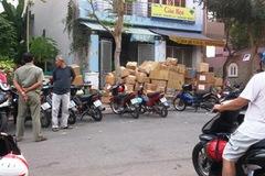 Lô hàng hiệu nghi nhập lậu ở sân bay Tân Sơn Nhất