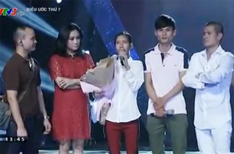 vợ chồng hát rong trên sân khấu Sao Mai, Thanh Lam, Việt Tú,