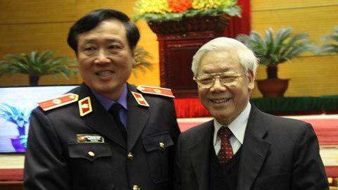 Tổng bí thư, Nguyễn Phú Trọng, tham nhũng