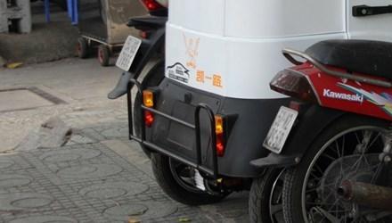 Ôtô điện 50 triệu không cần đăng ký tung hoành Sài  Gòn