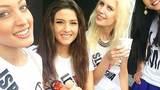 """Ảnh """"tự sướng"""" của  Hoa hậu Israel gây bão ở Lebanon"""
