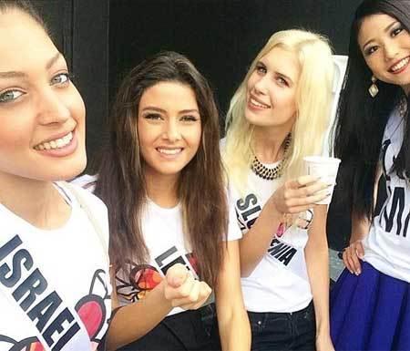 Ảnh 'tự sướng' của  Hoa hậu Israel gây bão ở Lebanon