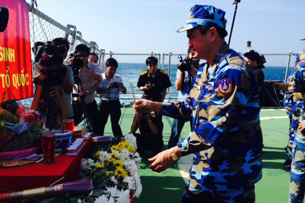 hải quân, cảnh sát biển,  Mỏ Rồng, Biển Đông