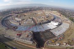 Hình ảnh mới nhất trụ sở phi thuyền của Apple