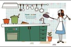 """7 bước dọn bếp """"sạch như lau như li"""" chỉ trong chớp nhoáng"""
