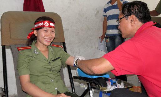 18 tỉnh tham gia ngày hội hiến máu 'Chủ nhật đỏ'