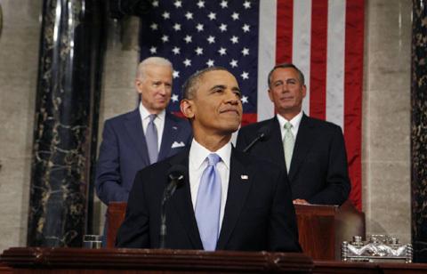 """Obama: """"Bóng ma khủng hoảng đã trôi qua"""" - 4"""