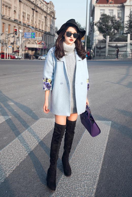 Học cách diện đồ đẹp cùng boots cao cổ qua street style châu Á