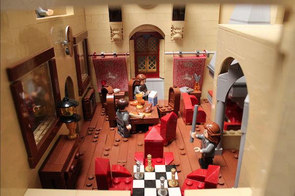 ảnh, Harry Potter, lâu đài, ma thuật, phù thủy, Lego, mô hình