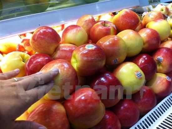 Đại sứ quán Mỹ phản hồi về táo bị thu hồi ở VN